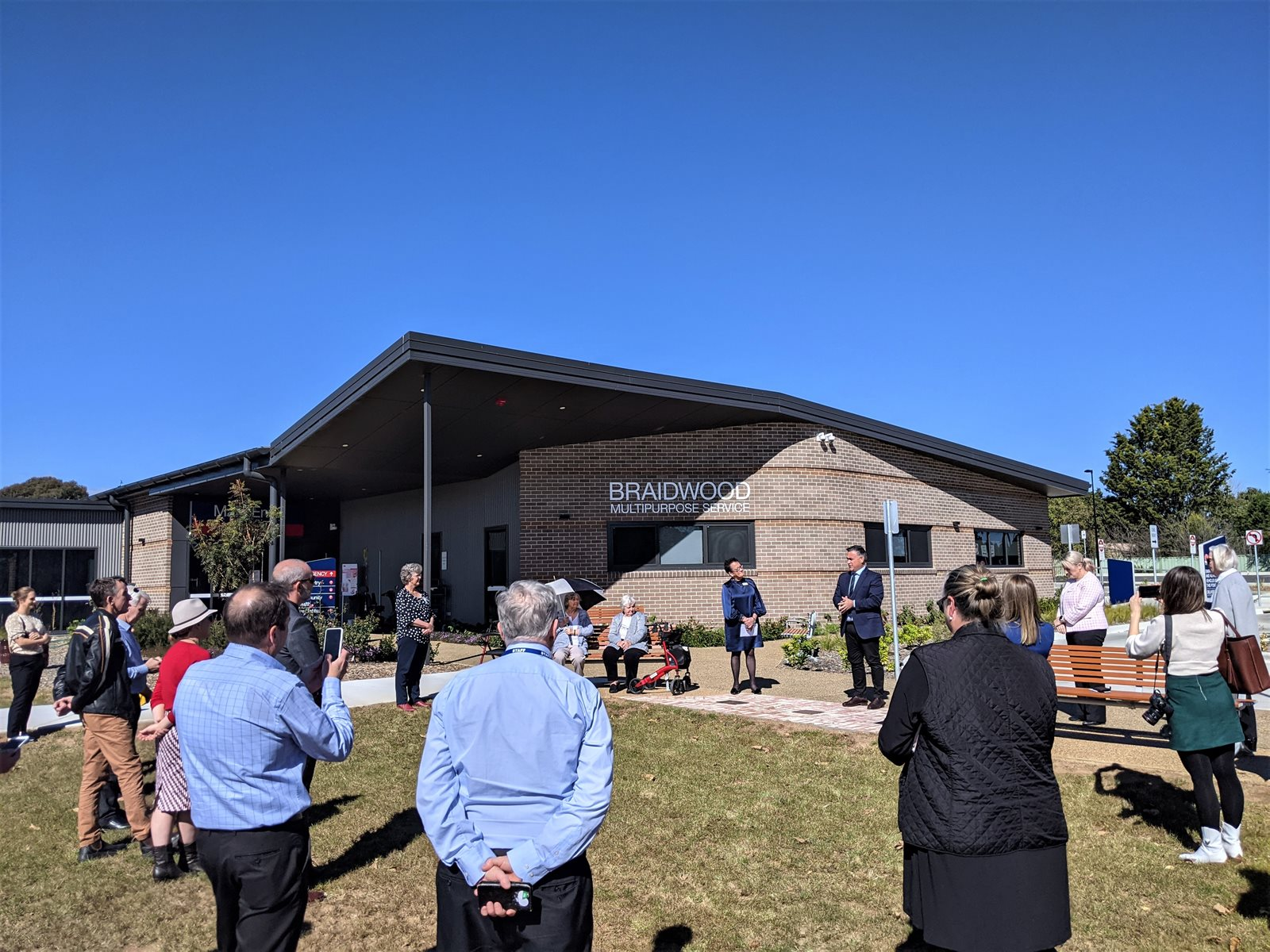 Braidwood MPS - officially opened