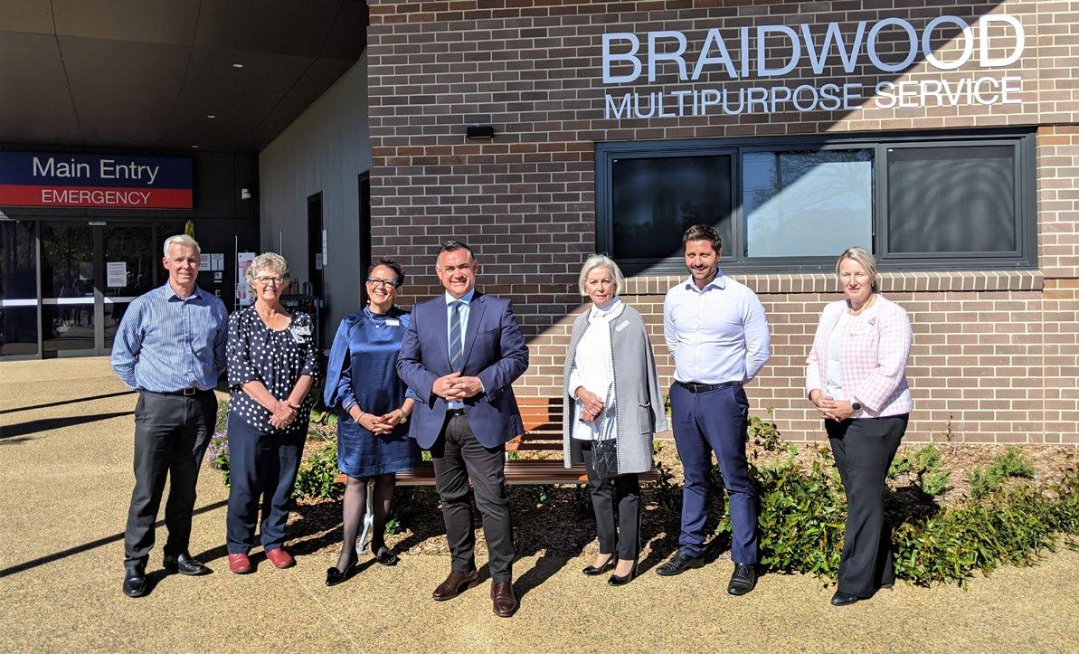 Braidwood MPS Redevelopment - August 2021 Newsletter